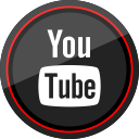 youtube, media, social, logo icon