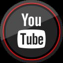 youtube, media, social, logo icon