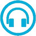 mb, listen icon