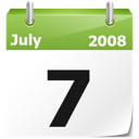 year, calendar, current date, full calendar, month, date icon