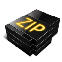 zip, paper, file, document icon