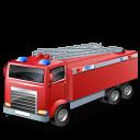 firetruck, fireescape icon