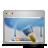 aqua, wallpaper, desktop icon