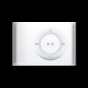 shuffle, ipod, white icon