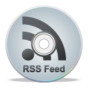 grey, rss, cd, feed, compact disk icon