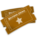 hollywood,ticket icon