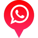 logo, social, media, whatsapp icon