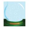 Christmas, Globe, , Snow icon