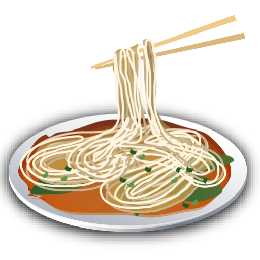 recipe, noodle icon