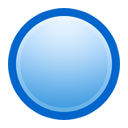 ball,blue icon