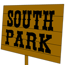 , Park, Sign, South icon