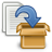 48, to, files, add, blue, archive icon