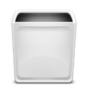 Dock Trash Empty icon