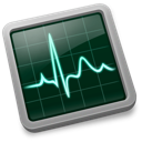monitor, activity icon
