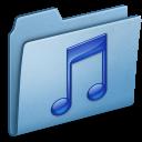 blue,music icon
