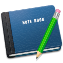 note, book icon