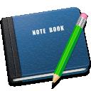 note, book icon