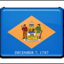 delaware,flag icon