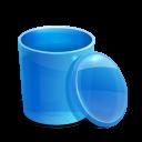 blue, recycle, bi icon