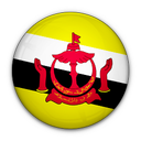 of, brunei, flag icon