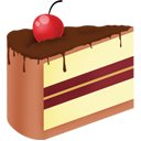 Cake, Chocolate, Cream, Ice icon