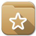 Apps folder bookmarks icon