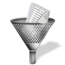 funnel, filter icon