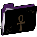 Ankh Folder (purple) icon