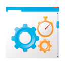 report, chart, diagram, seo, marketing, website optimization, performance, analytics icon