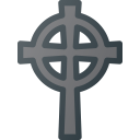 cross, death, stone, cemetery, grave, celtic icon