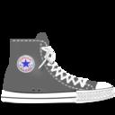 converse,grey icon