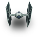 Fighter, Star, Tie, Wars icon
