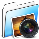 Folder, Photo, Smooth icon