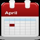 Calendar selection day icon