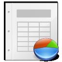 Application, Gnome, Kspread, Mime, x icon
