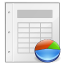 Application, Gnome, Mime, Template, Vnd.Oasis.Opendocument.Spreadsheet icon