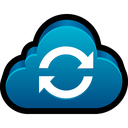 storage, refresh, sync, reload, cloud icon