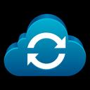 storage, refresh, sync, reload, cloud icon