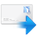 arrow, ok, yes, next, mail, letter, forward, email, envelop, correct, right, message icon