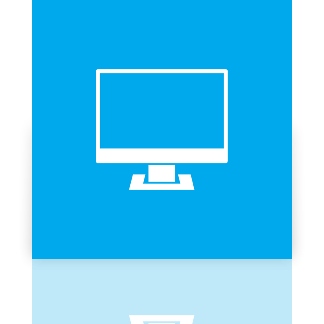 computer, mirror, alt icon