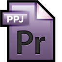 Adobe, File, Premiere icon