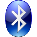 logo, bluetooth icon