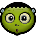spooky, frankie, monster, halloween, halloweem, zombie, frankenstein icon