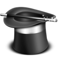 magician, hat, wizard icon