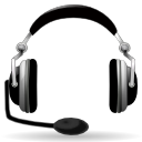 headset, audio, headphone icon