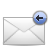 reply, mail icon