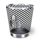 trash, garbage, bin, recycle icon