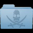 pirate,folder icon