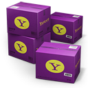 Yahoo Shipping Box icon