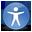 gnome, desktop, preferences, accessibility icon